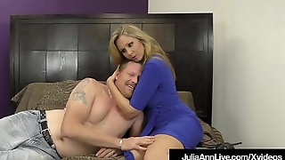 FemDom Mistress Ms. Julia Ann Won'_t Allow Her Hubby To Cum!