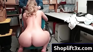Daisy Stone less hard sex with strnager mall cop
