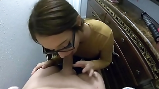 Blowjob everywhere the Closet - Lexi aaane
