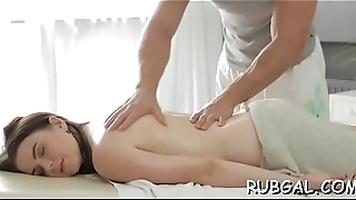 Lusty cleft massage videos