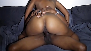 Big Booty Bouncing on Cock