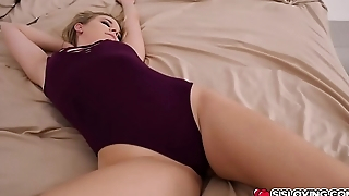 Aubrey Sinclair aided her step bro'_s cock while she'_s more than top!