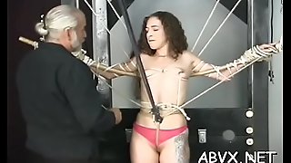 Teen delights with severe enjoyment not susceptible her shaved snatch