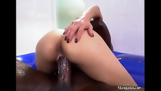Curvy Asian Hoe Jackie Lin Loves A Big Black Cock